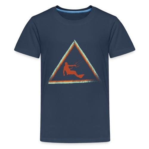 Wir kiten im Dreieck - Teenager Premium T-Shirt