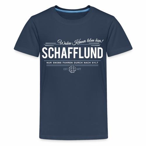 Schafflund - für Kenner 2 - Teenager Premium T-Shirt