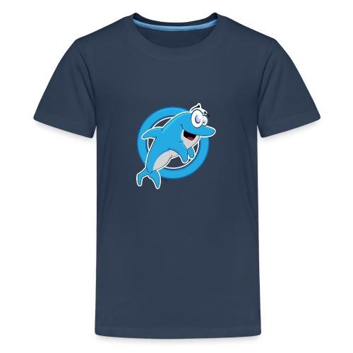 Dolphie - Teenage Premium T-Shirt