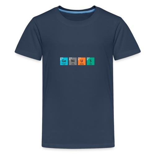 genius - Premium T-skjorte for tenåringer