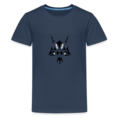 chien-chat - T-shirt Premium Ado