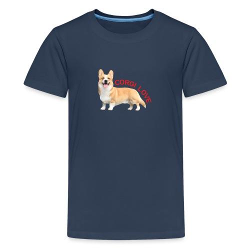 CorgiLove - Teenage Premium T-Shirt