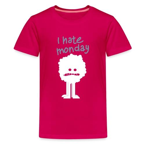 ihatemonday - T-shirt Premium Ado