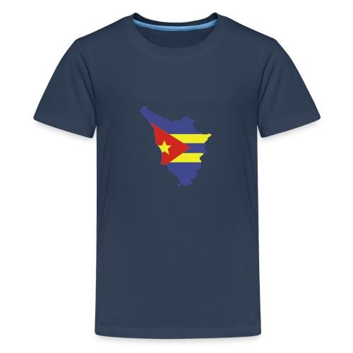 logotoscana3 colori - Maglietta Premium per ragazzi