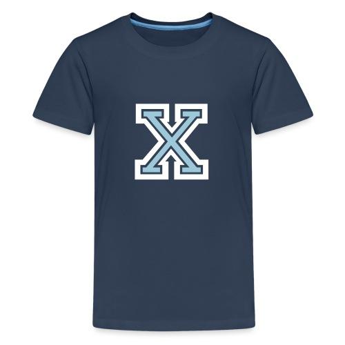 X Collegestyle 2C - Teenager Premium T-Shirt