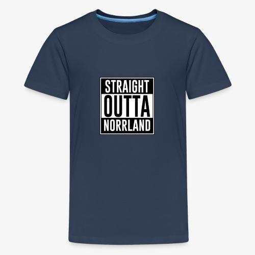 Norrland - Premium-T-shirt tonåring