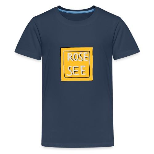 Logo voor druk op textiel - Teenager Premium T-shirt