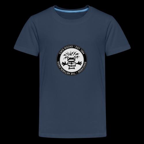 Emblem BW - Teenager Premium T-shirt