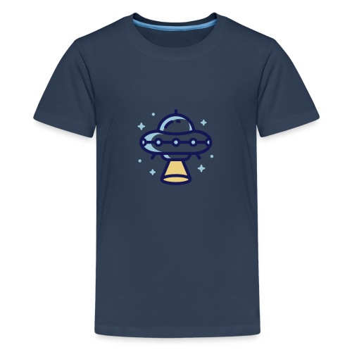 Space Spaceship - Teenager Premium T-shirt