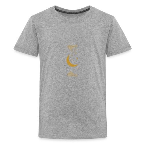 Ramadan Kareem Muslim holy month ilustration - Teenage Premium T-Shirt