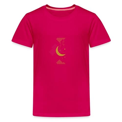 Ramadan Kareem Muslim holy month ilustration - Teenage Premium T-Shirt