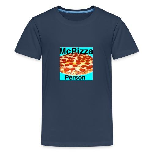 Old McPizzaPerson Logo - Teenage Premium T-Shirt