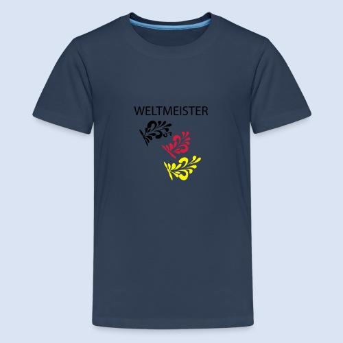 Frankfurt Bembelschwung - Teenager Premium T-Shirt