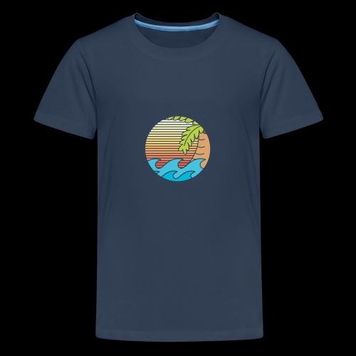 mar caribe - Camiseta premium adolescente