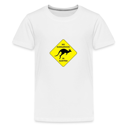 No Kangaroos in Austria - Teenager Premium T-Shirt