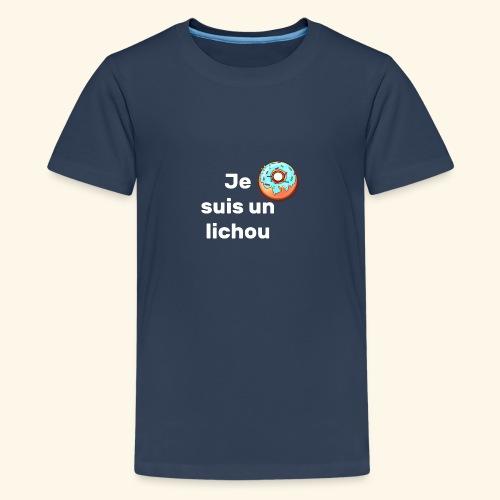 lichou - T-shirt Premium Ado