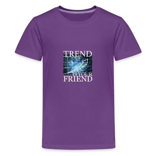 Designed T-Shirt for Traders Stock Market Forex - Maglietta Premium per ragazzi
