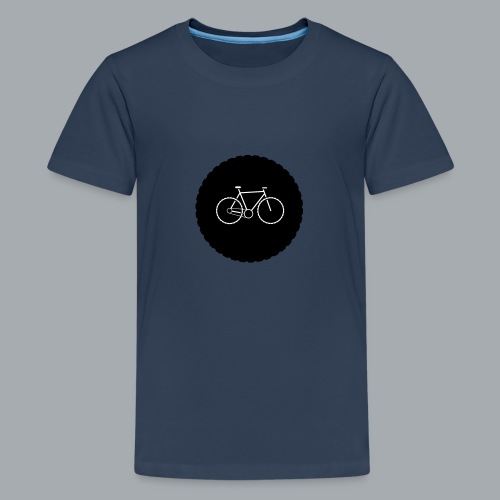 Bike Circle Vector - Teenager Premium T-Shirt