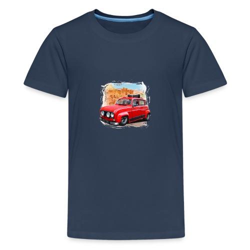 R4 4L prête au départ pour le Raid dans le désert - T-shirt Premium Ado