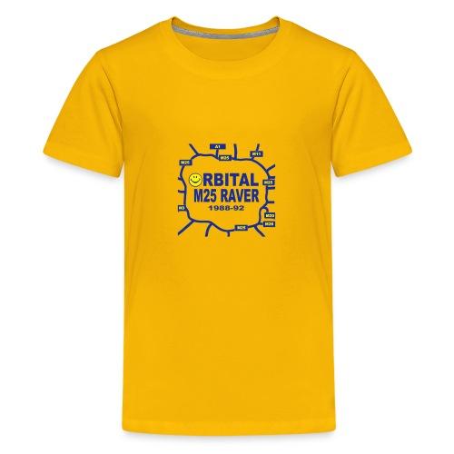 Orbital M25 Acid Hosue Raver - Teenage Premium T-Shirt