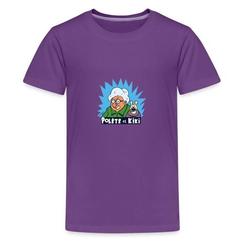 tshirt polete et kiki - T-shirt Premium Ado