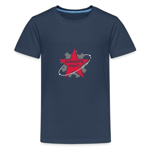 ap logo o hintergrund - Teenager Premium T-Shirt