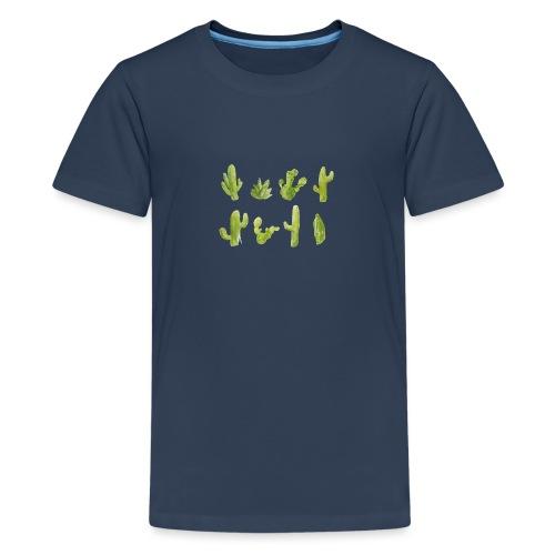 Cactus Design aquarelle - T-shirt Premium Ado
