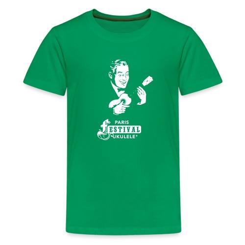 VISUEL 2016 - T-shirt Premium Ado