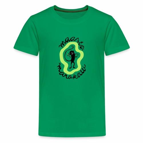 Maastomarakatti - Teinien premium t-paita
