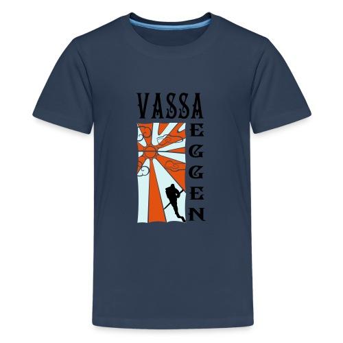 Mot Horisonten 3 Färger - Premium-T-shirt tonåring