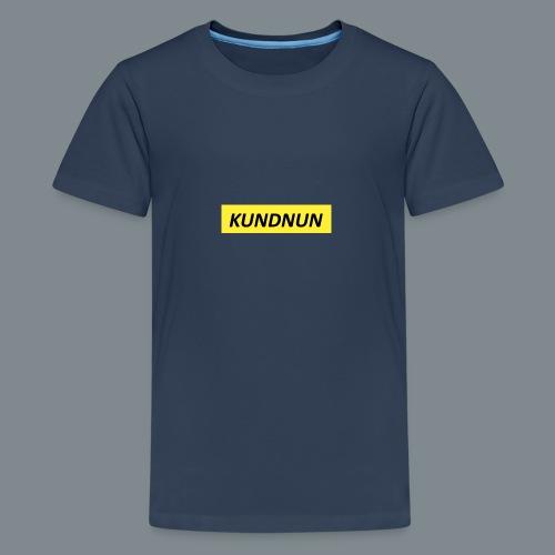 Kundnun official - Teenager Premium T-shirt