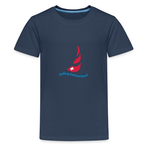 logo sailing switzerland - Teenager Premium T-Shirt