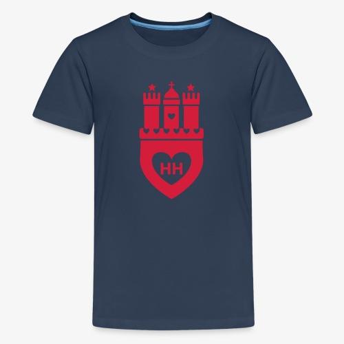 I Love Hamburg 1c - Teenager Premium T-Shirt