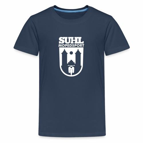 Suhl Mopedsport Schwalbe Logo - Teenage Premium T-Shirt