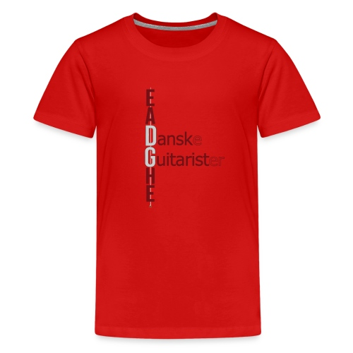 DG LOGO 16 - Teenager premium T-shirt