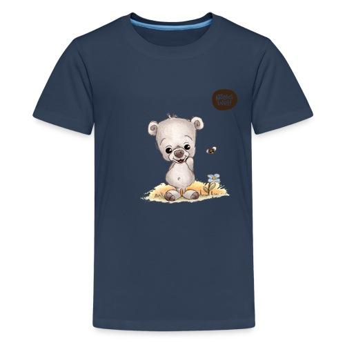 Noah der kleine Bär - Teenager Premium T-Shirt