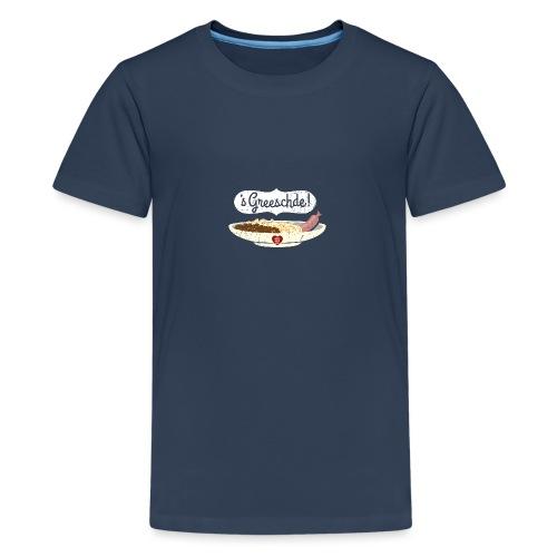 Linsen - Spätzle - Saiten - Teenager Premium T-Shirt