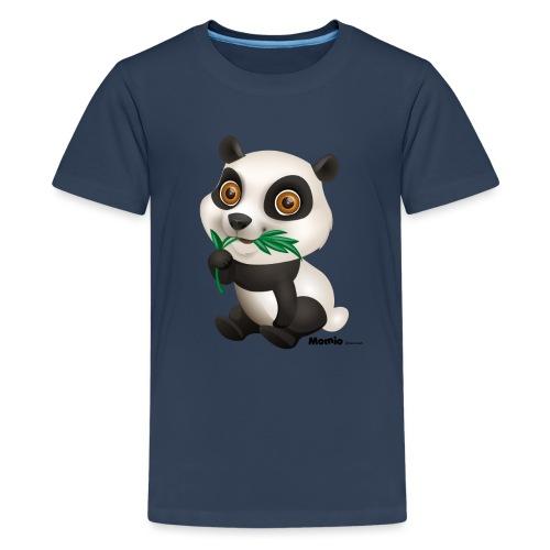 Panda - Premium T-skjorte for tenåringer