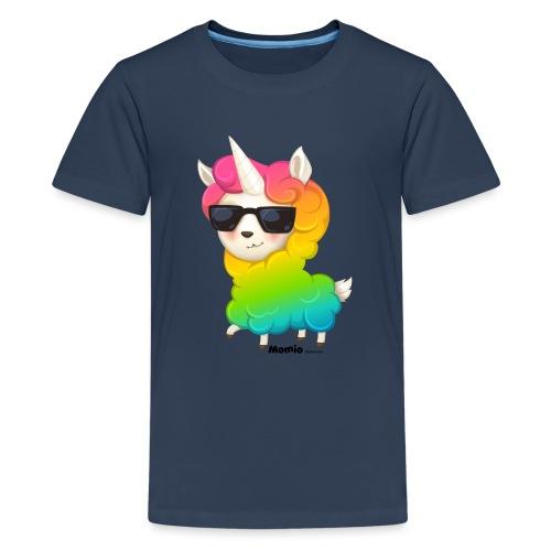 Rainbow animo - Premium T-skjorte for tenåringer
