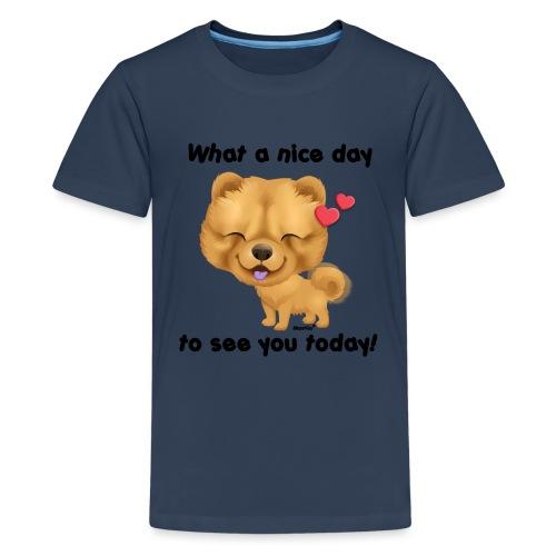 Miły dzień przez Niszczacy - Koszulka młodzieżowa Premium