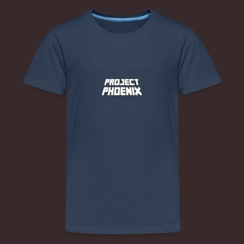 PP Large White - Teenage Premium T-Shirt
