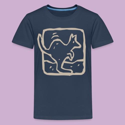 Känguru - Teenager Premium T-Shirt