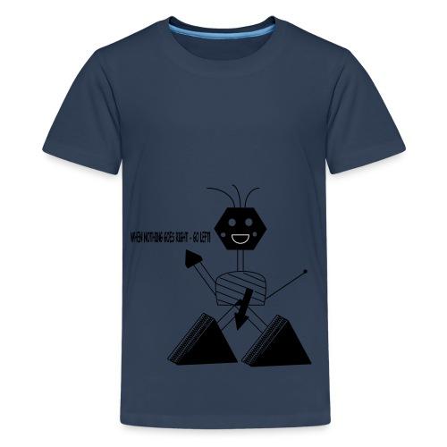 Roboter - Teenager Premium T-Shirt
