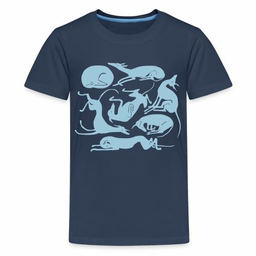 Uneksijat Dreamers - Teinien premium t-paita