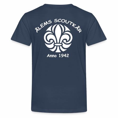 Ålem 4 png - Premium-T-shirt tonåring
