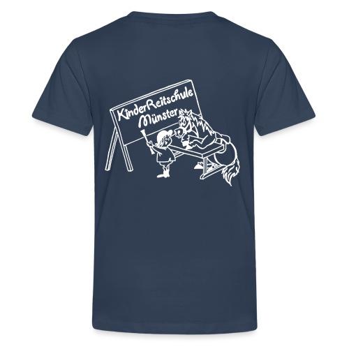 LogoWeiss - Teenager Premium T-Shirt