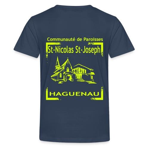 paroisseslogo3_copie - T-shirt Premium Ado