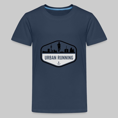 UrbanRunningLogo - Teenager Premium T-Shirt
