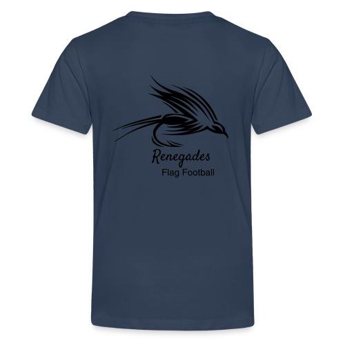 Renegades_Black_Schrift P - Teenager Premium T-Shirt