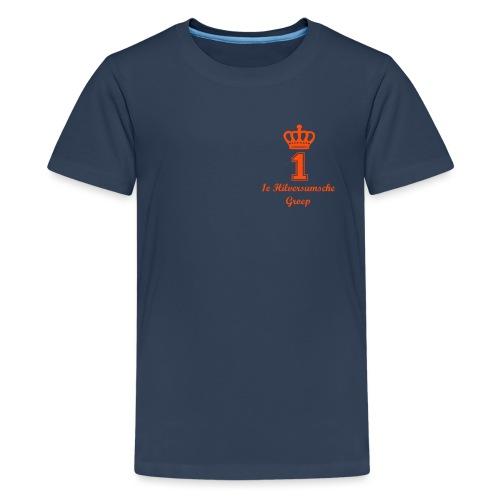 1e Hilversumsche Groep - Teenager Premium T-shirt